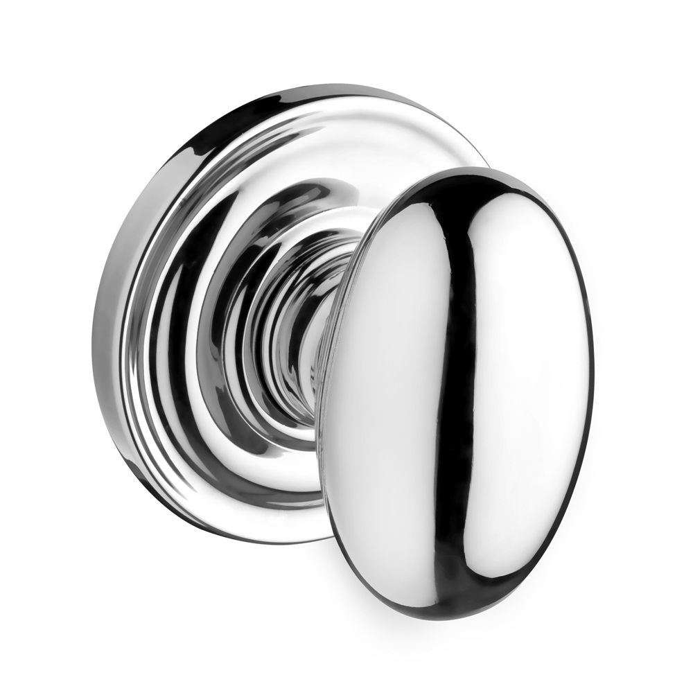 Baldwin Reserve Ellipse Knob Polished Chrome