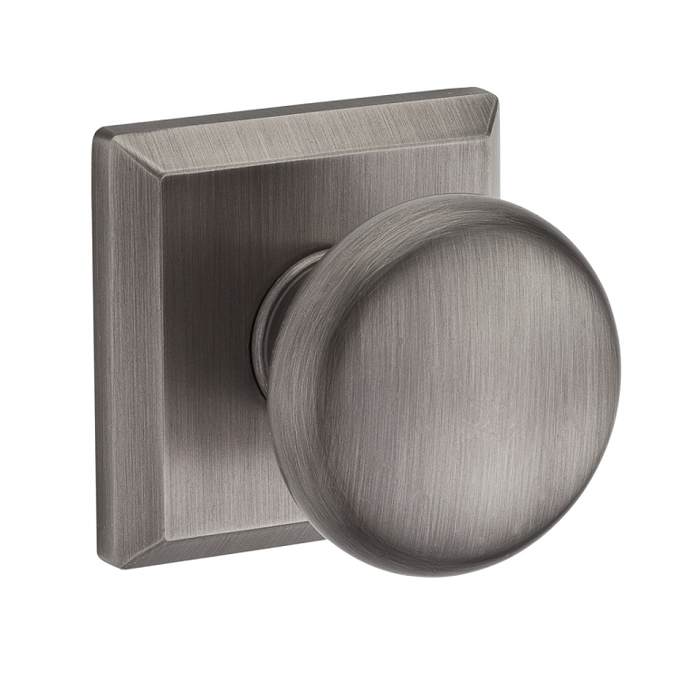 Baldwin Reserve Round Knob Matte Antique Nickel