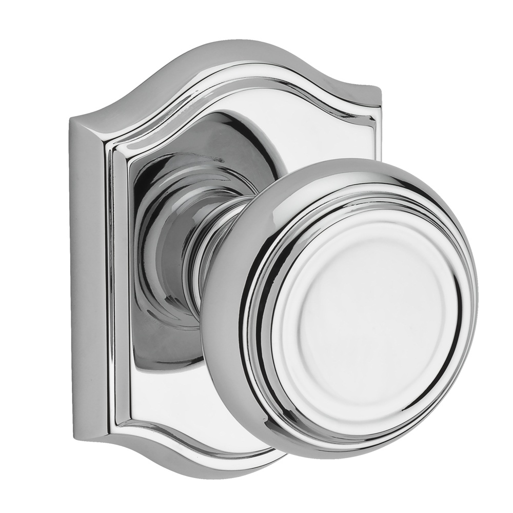 Baldwin Reserve Traditional Knob Polished Chrome