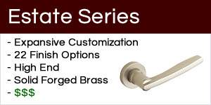 Baldwin Estate Series Door Hardware