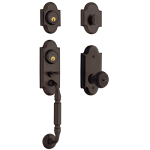 Baldwin Ashton Two Point Lock Handleset 85365