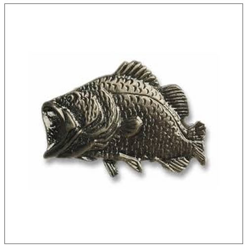 Bass Fish Cabinet Knobs And Cabinet Pulls