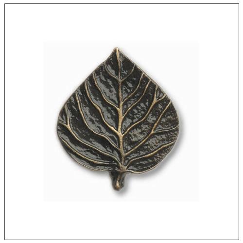 Buck Snort Lodge Leaf and Tree Cabinet Hardware