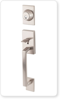Lovely Two Piece Entry Door Handlesets