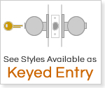 Keyed Entry Door Locks