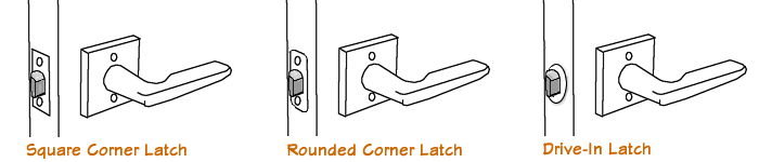 Door Hardware latch parts