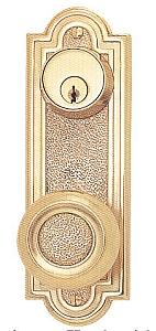 Emtek Belmont Decorative 7 1 2 Inch Sideplate Lock