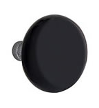 Emtek Madison Black Porcelain Knob
