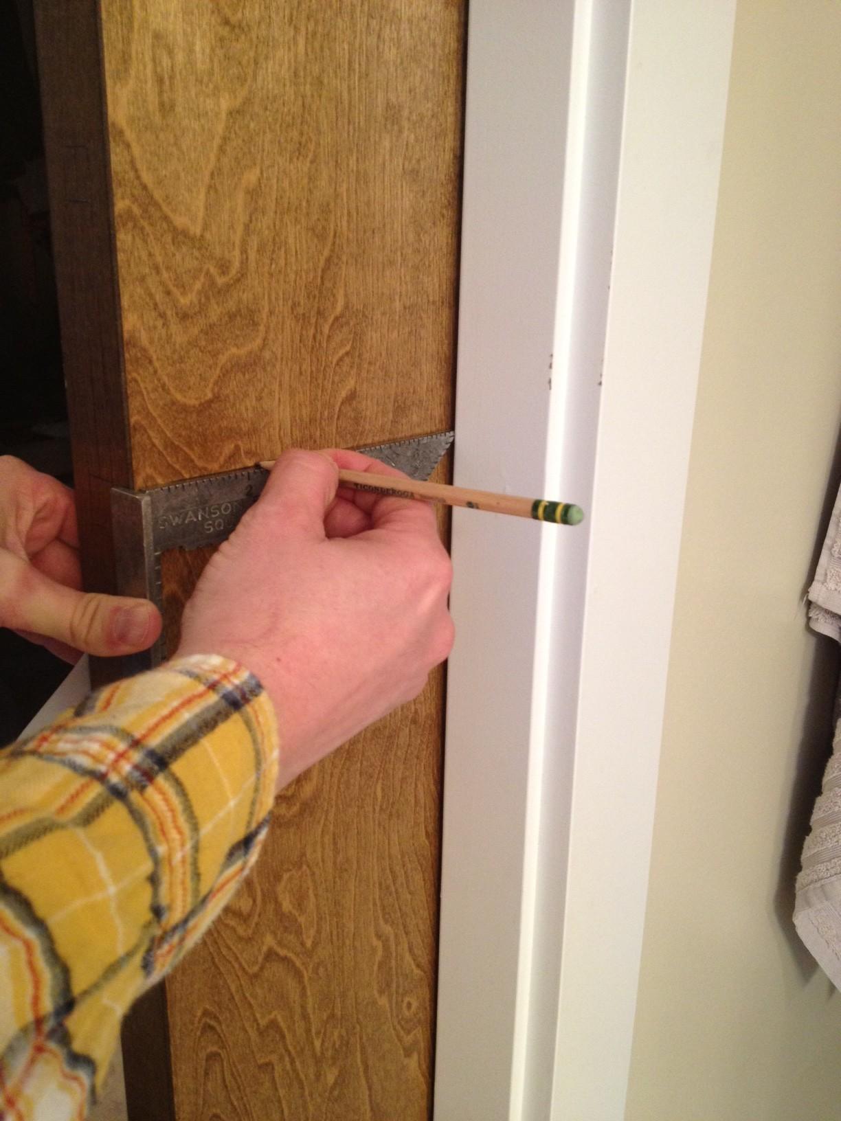 Linnea PL-160 Pocket Door Lock Installation Step 4 & Linnea PL-160 Pocket Door Lock Install Instructions