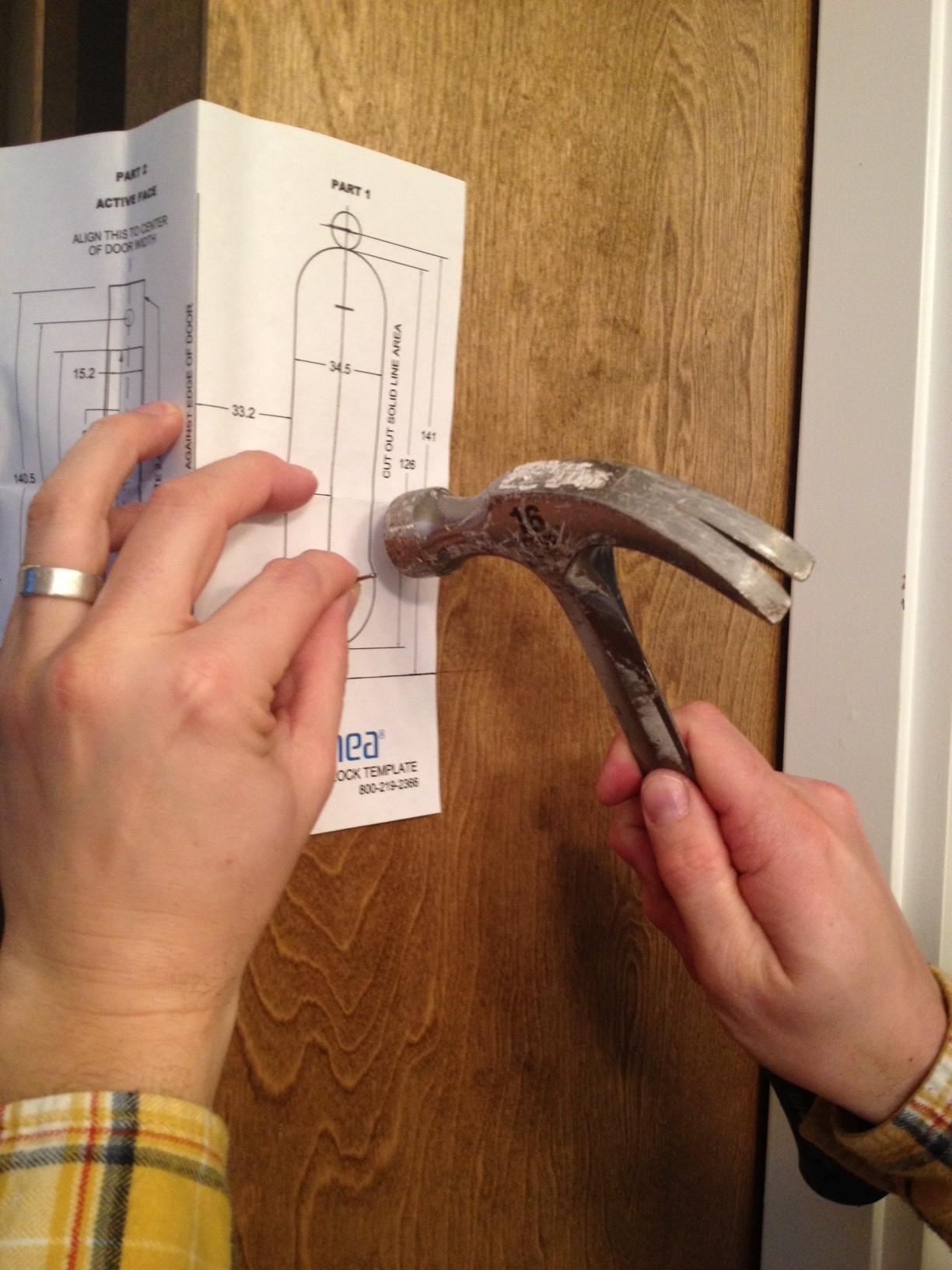 Linnea PL 160 Pocket Door Lock Installation   Step 5