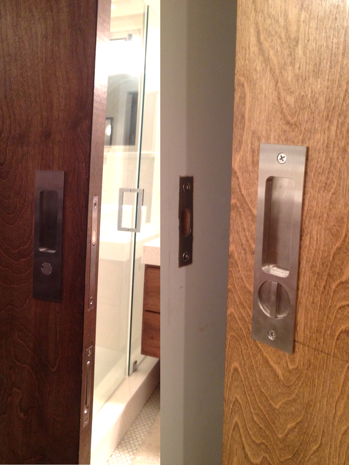 Linnea PL160 Pocket Door Lock Installation Step 15