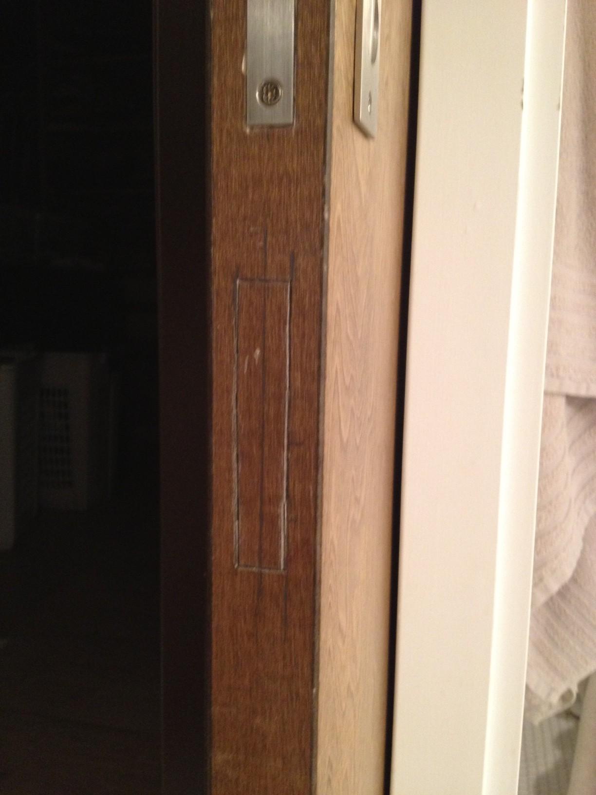 Emtek 2221 Edge Pull Installation