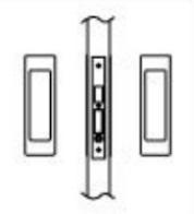 Inox Pd8000 Series Mortise Pocket Door Lockbox
