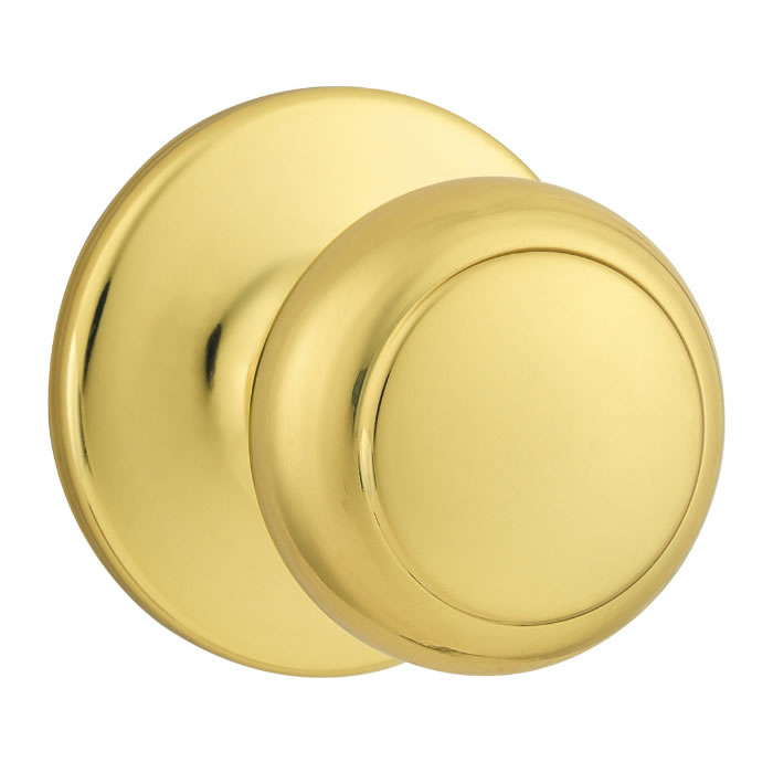 Kwikset Cove Polished Brass ...