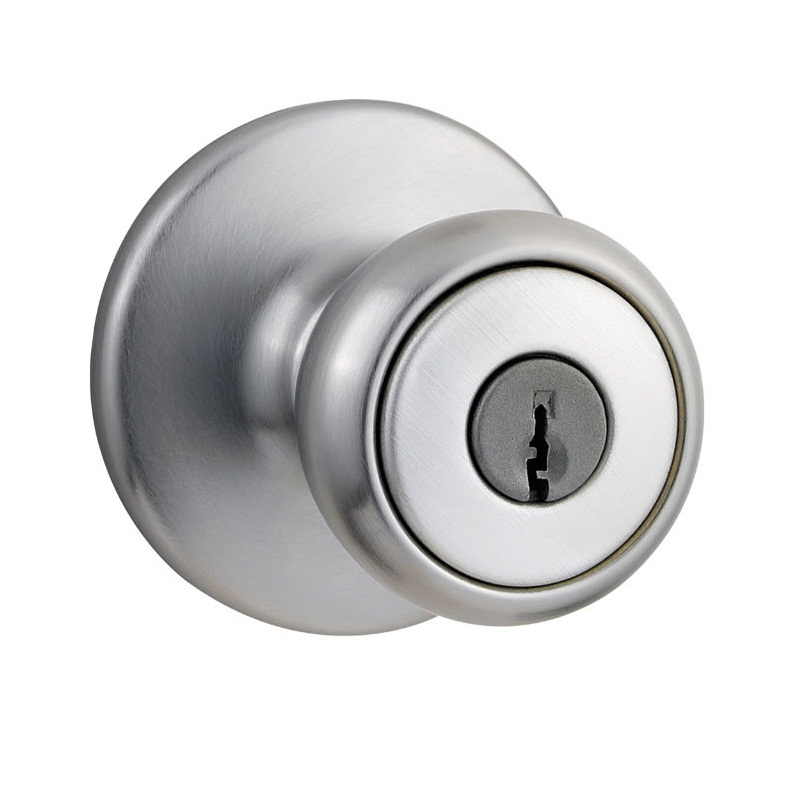 Kwikset Tylo Polished Brass Kwikset Tylo - Satin Chrome  sc 1 st  Direct Door Hardware & Kwikset Door Hardware - Kwikset Tylo Door Knob