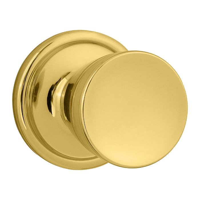 Kwikset Abbey - Polished Brass ...  sc 1 st  Direct Door Hardware & Kwikset Door Hardware - Kwikset Signature Series Abbey Door Knob pezcame.com