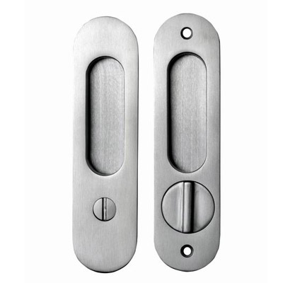 Round Pocket Door Hardware linnea pl-160r round pocket door set