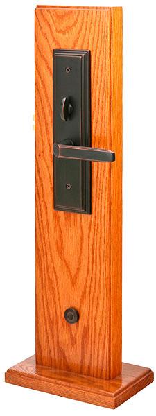 Emtek Door Hardware Emtek Mills Mortise Entry Handleset