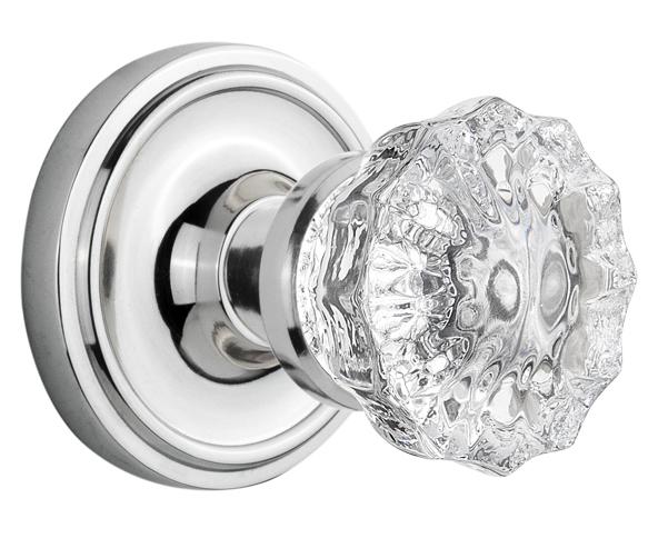 Door knobs on door - Antique Brass Antique Pewter Bright Chrome