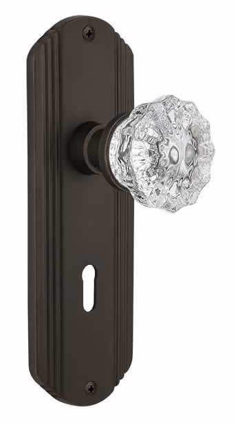 Crystal Door Knobs Vintage Glass Style Doorknobs