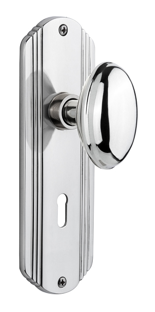 Bright Chrome / Privacy (Pair) ... - Antique Door Hardware Parts