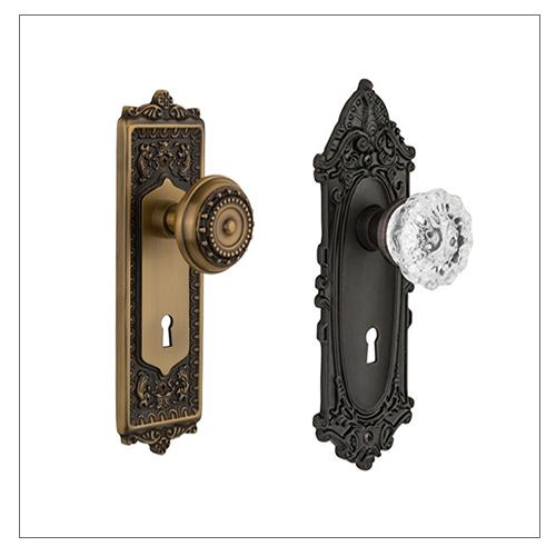 Nostalgic Warehouse Skeleton Key Locks - Nostalgic Warehouse Vintage, Antique Style Door Hardware