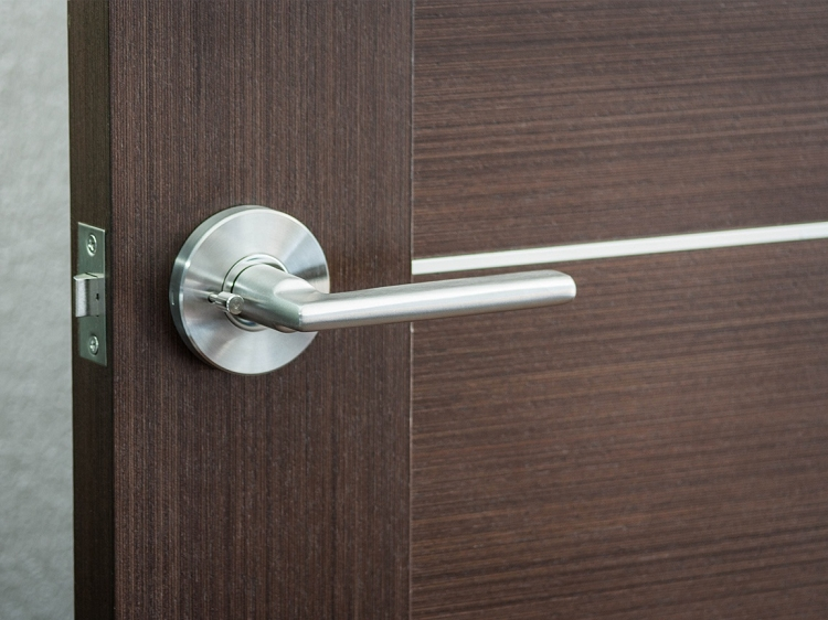 & Nova Hardware Simplicity Stainless Steel Modern Lever
