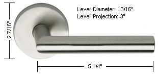 Omnia Style 12 Lever Dimensions