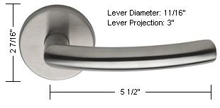 Omnia Style 47 Lever Dimensions