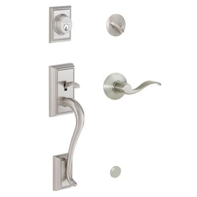 Schlage Addison Entrance Handleset
