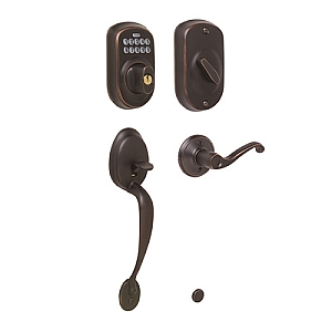 Schlage Keyless Plymouth Entrance Handleset
