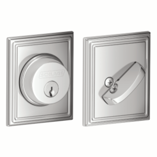 Schlage Bright Chrome