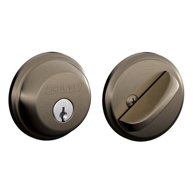 Electronic Deadbolt Keyed Both Sides Key Control Cylinder