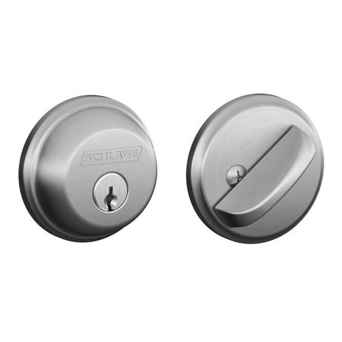 Schlage Single Cylinder Deadbolts Door Locks B60