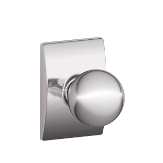 Schlage Satin Chrome Orbit Knob