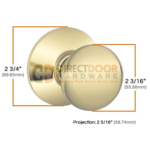 Schlage Door Hardware - Schalge Plymouth Door Knob