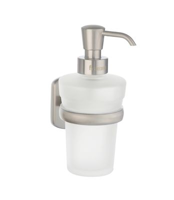 Smedbo Cabin Soap Dispenser Wallmount Brushed Nickel