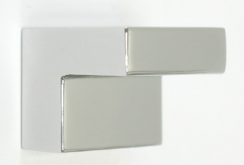 Review this item. Top Knobs Nouveau III 1 Inch Square Cabinet Knob -  Polished Chrome