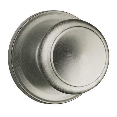 weiser troy door knob in antique nickel