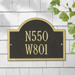 Wisconsin Special Address Plaques