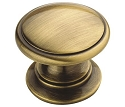 Amerock Allison Value -  1 1/4 Inch Elegant Brass Cabinet Knob