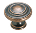 Amerock 1 5/16 Inch Weathered Copper Cabinet Knob