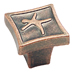 Amerock 1 1/8 Inch Weathered Copper Motif'z Poser Cabinet Knob