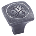 Amerock Wrought Iron Dark Royal Leaf Cabinet Knob
