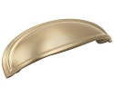 Amerock Ashby 3 & 4 Inch CC Cup Pull - Golden Champagne