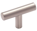 Amerock Bar Pulls 2 Inch Cabinet Knob - Stainless Steel