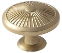 Amerock Crawford 1 3/4 Inch Cabinet Knob - Golden Champagne