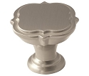 Amerock Grace Revitalize 1 3/8 Inch Cabinet Knob - Satin Nickel