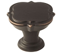 Amerock Grace Revitalize 1 3/8 Inch Cabinet Knob - Oil-Rubbed Bronze