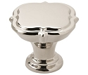 Amerock Grace Revitalize 1 3/8 Inch Cabinet Knob - Polished Nickel